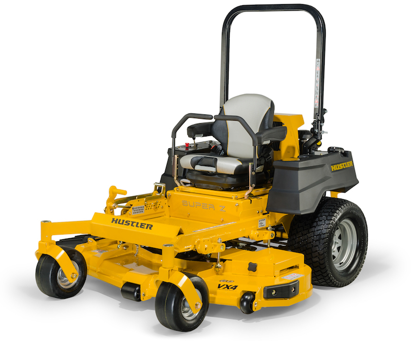 How much is a hustler mower